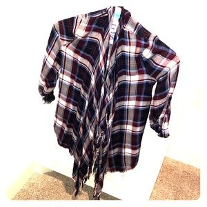 Sweaters - Flannel over shirt